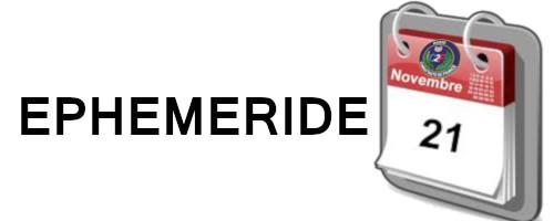 EPHEMERIDE